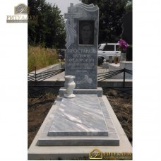 Установка мраморного памятника на армированный бетон — ritualum.ru